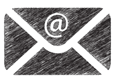 Sketch of Envelope. Looking for direct marketing services then speak to Only Marketing today.